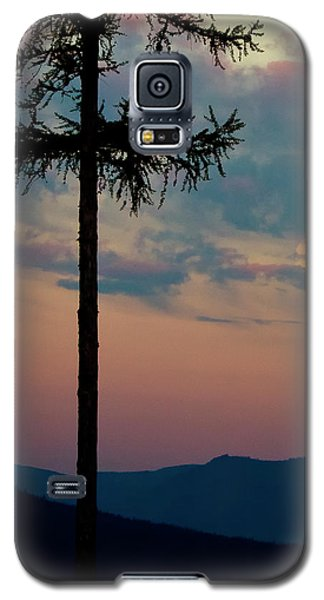 Galaxy S5 Case featuring the photograph Not Quite Clearcut by Albert Seger