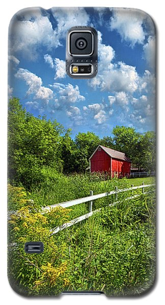 Noticing The Days Hurrying By Galaxy S5 Case