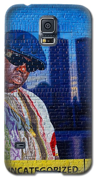 Notorious B.i.g. Galaxy S5 Case by  Newwwman