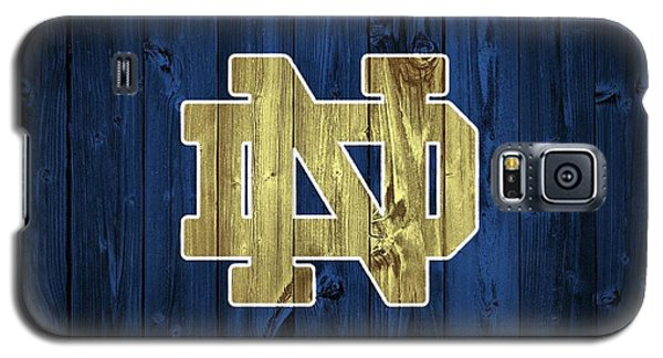 Florida State Galaxy S5 Case - Notre Dame Barn Door by Dan Sproul
