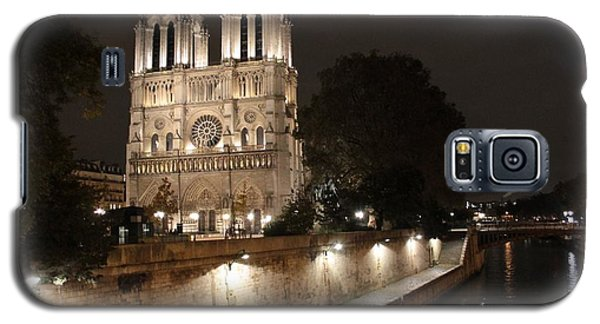 Notre Dame Cathedral From Petit Pont Galaxy S5 Case