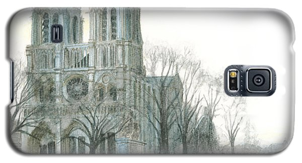 Notre Dame Cathedral In March Galaxy S5 Case