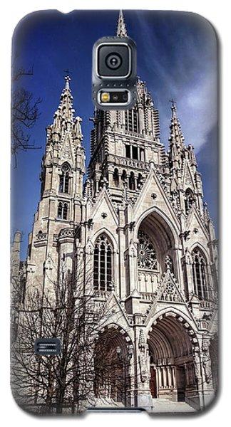 Galaxy S5 Case featuring the photograph Notre Dame De Laeken In Brussels  by Carol Japp