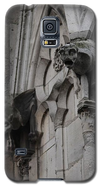Galaxy S5 Case featuring the photograph Notre Dame Grotesques by Christopher Kirby