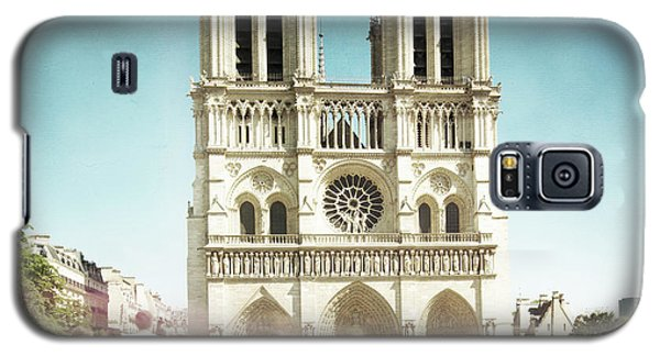 Galaxy S5 Case featuring the photograph Notre Dame by Hannes Cmarits