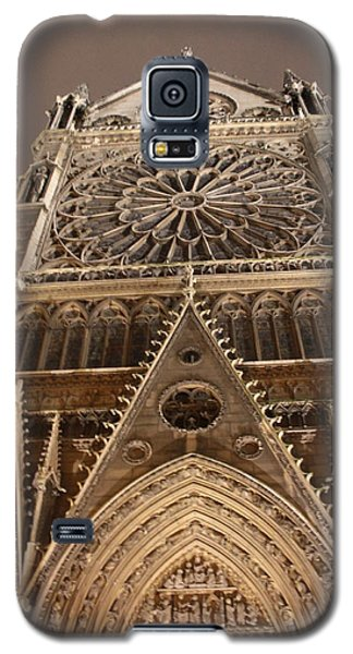 Galaxy S5 Case featuring the photograph Notre Dame North by Christopher Kirby