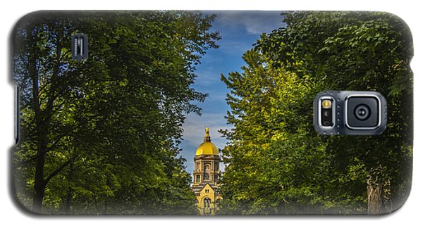 Notre Dame University 2 Galaxy S5 Case by David Haskett
