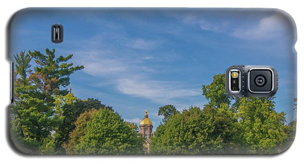 Galaxy S5 Case featuring the photograph Notre Dame University 6 by David Haskett