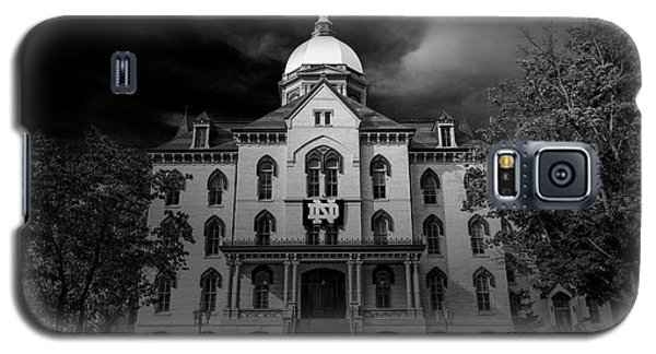 Notre Dame University Black White 3a Galaxy S5 Case