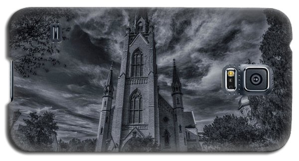 Notre Dame University Church Galaxy S5 Case by David Haskett
