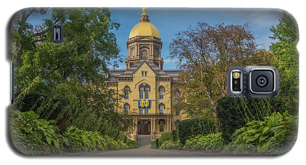 Notre Dame University Q Galaxy S5 Case by David Haskett