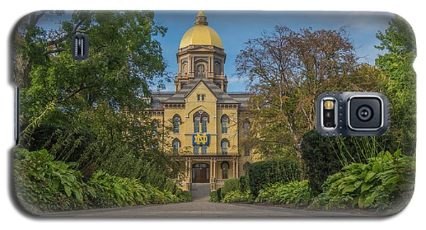 Notre Dame University Q Galaxy S5 Case