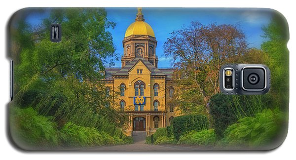Notre Dame University Q2 Galaxy S5 Case by David Haskett