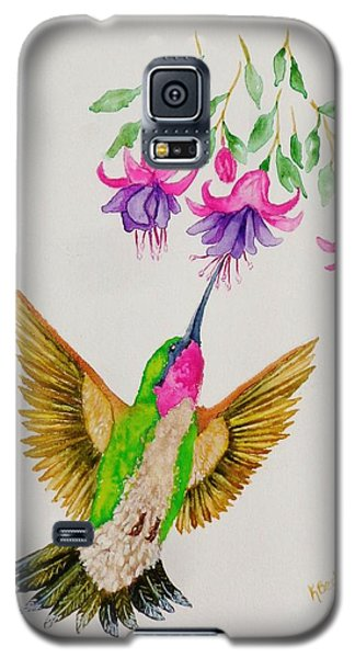 Galaxy S5 Case featuring the painting Nourishment  by Katherine Young-Beck