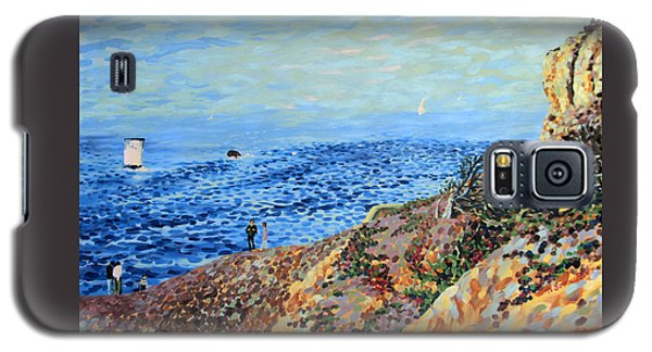 November Day At Point Lobos San Francisco Galaxy S5 Case