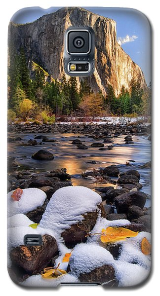 Mountain Galaxy S5 Case - November Morning by Anthony Michael Bonafede