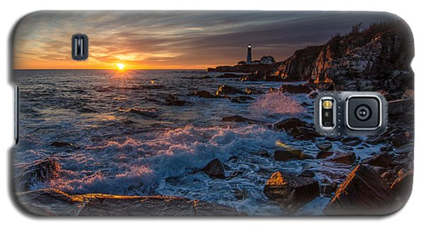 Galaxy S5 Case featuring the photograph November Morning by Paul Noble