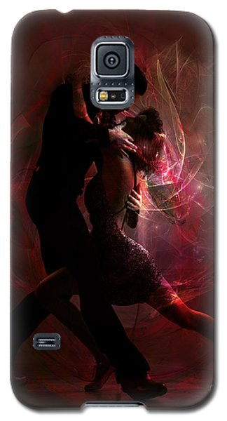 Galaxy S5 Case featuring the digital art Now And Forever by Shanina Conway