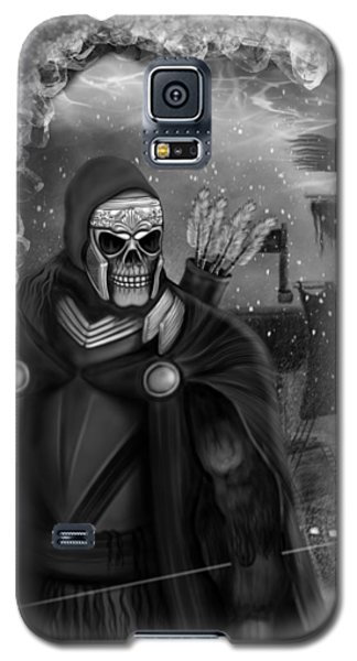 Now Or Never - Black And White Fantasy Art Galaxy S5 Case