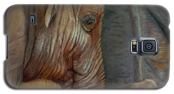 Galaxy S5 Case featuring the painting Now You Hold On Tight by Ceci Watson
