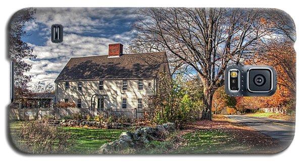 Noyes House In Autumn Galaxy S5 Case