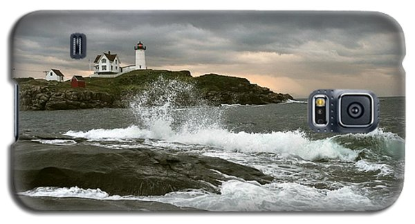 Nubble Light In A Storm Galaxy S5 Case