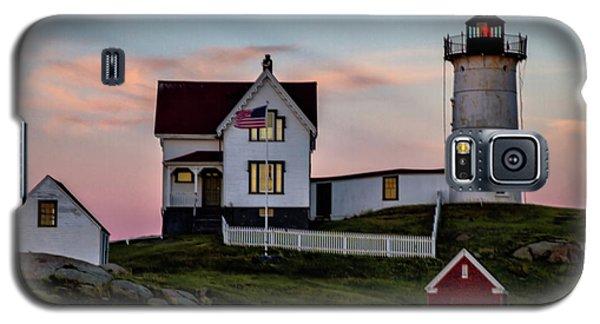 Nubble Lighthouse At Dusk  Galaxy S5 Case