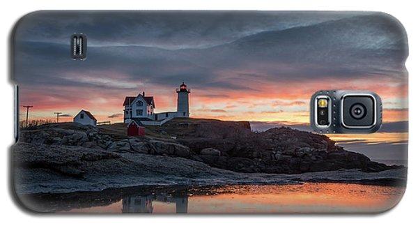 Nubble Sunrise Reflection Galaxy S5 Case