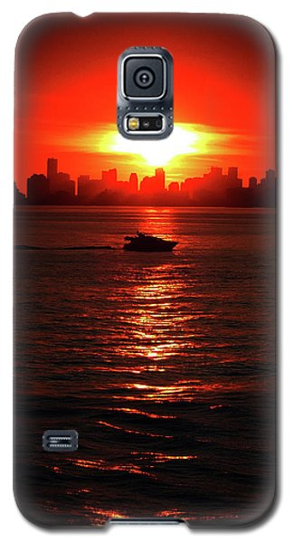 Nuclear Miami Sunset Galaxy S5 Case