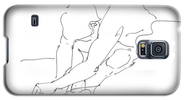 Nude Male Drawings 8 Galaxy S5 Case by Gordon Punt