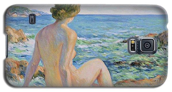 Nude On The Coast Monaco Galaxy S5 Case