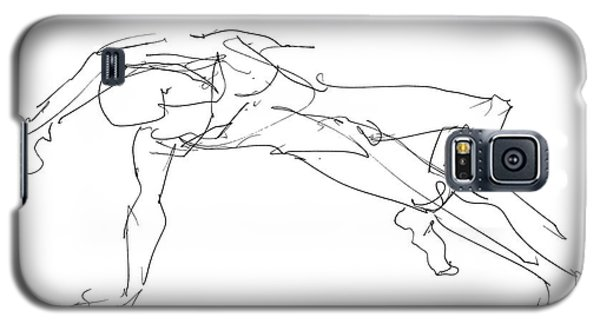 Nude_male_drawings_23 Galaxy S5 Case