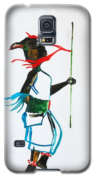 Nuer Dance - South Sudan Galaxy S5 Case by Gloria Ssali