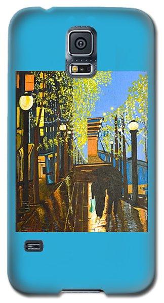 Nuit De Pluie Galaxy S5 Case by Donna Blossom