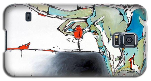 Number 17 Longhorn Steer Galaxy S5 Case