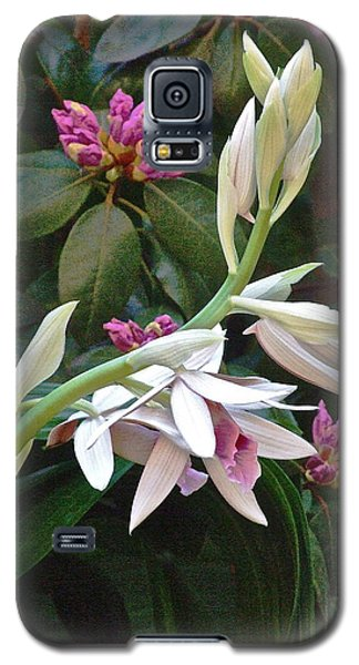 Nun Orchid Galaxy S5 Case