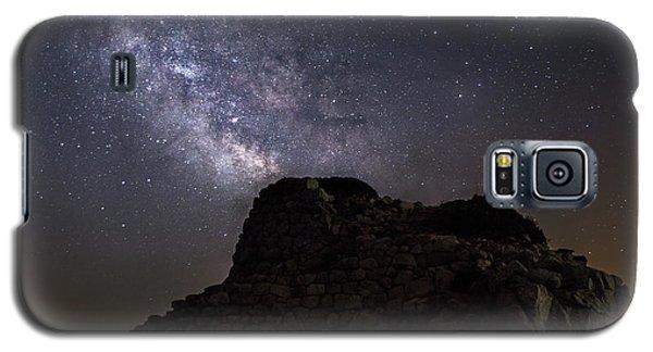 Nuraghe Of Sardinia Under The Stars Galaxy S5 Case
