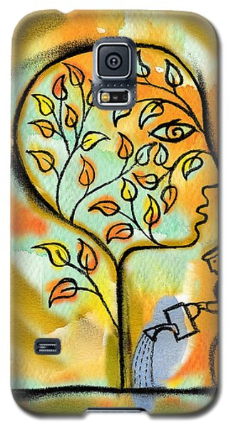 Garden Galaxy S5 Case - Nurturing And Caring by Leon Zernitsky