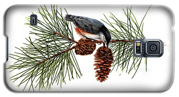 Nuthatch 1 Galaxy S5 Case