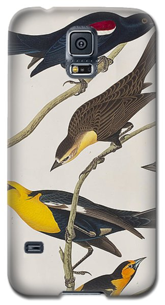 Nuttall's Starling Yellow-headed Troopial Bullock's Oriole Galaxy S5 Case