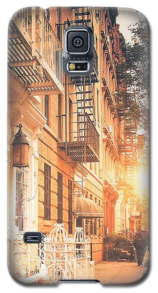 Buy Galaxy S5 Cases - NYC Autumn Galaxy S5 Case by Vivienne Gucwa