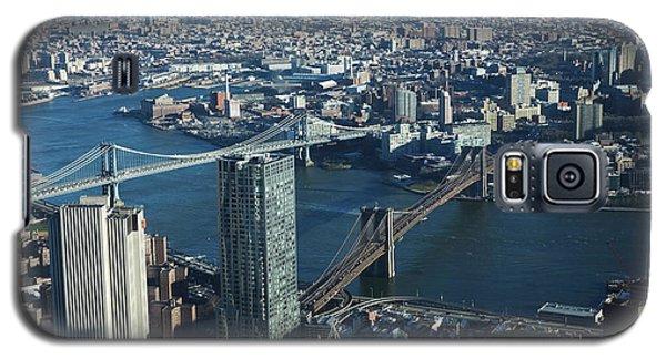 Nyc Bridges Galaxy S5 Case by Matthew Bamberg