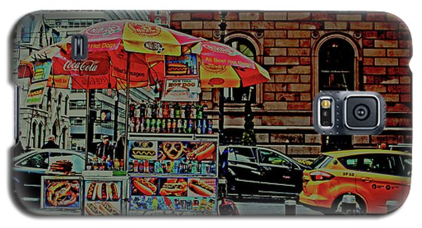 New York City Food Cart Galaxy S5 Case by Sandy Moulder