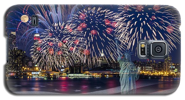 Nyc Fourth Of July Celebration Galaxy S5 Case
