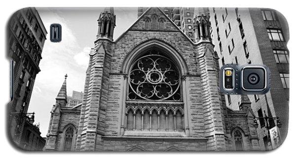 Nyc Holy Trinity Church - Black And White Galaxy S5 Case