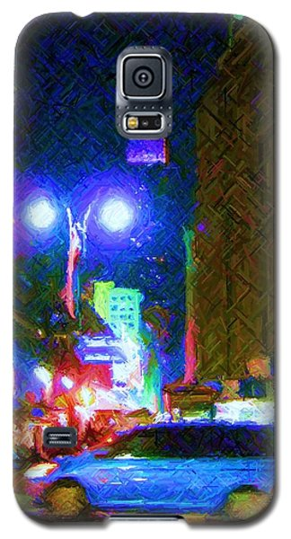 Galaxy S5 Case featuring the photograph Nyc In Tie Dye by Susan Carella