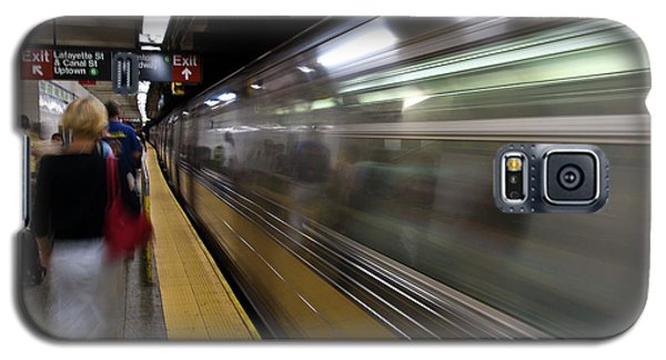 Nyc Subway Galaxy S5 Case by Sebastian Musial