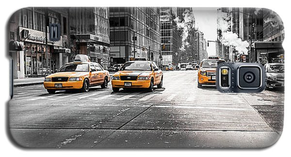 Nyc Taxi Galaxy S5 Case