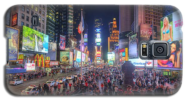 Nyc Times Square Panorama Galaxy S5 Case