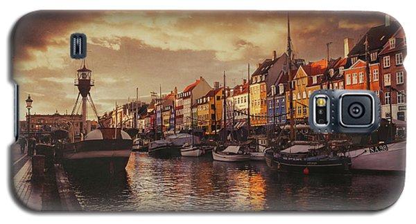 Nyhavn Sunset Copenhagen Galaxy S5 Case
